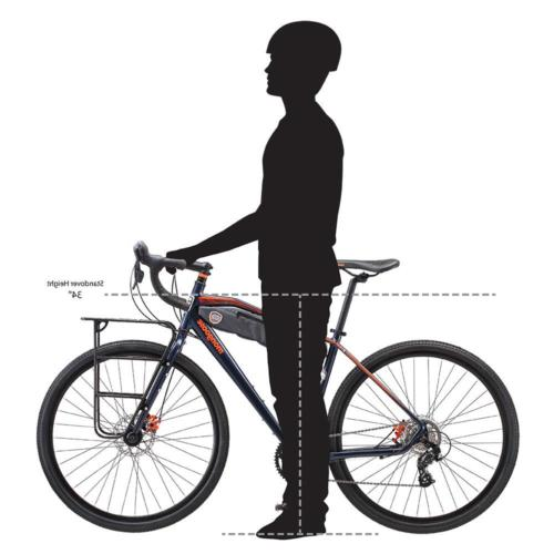 Mongoose Men's Bike Bicycle, Blue, 54cm frame