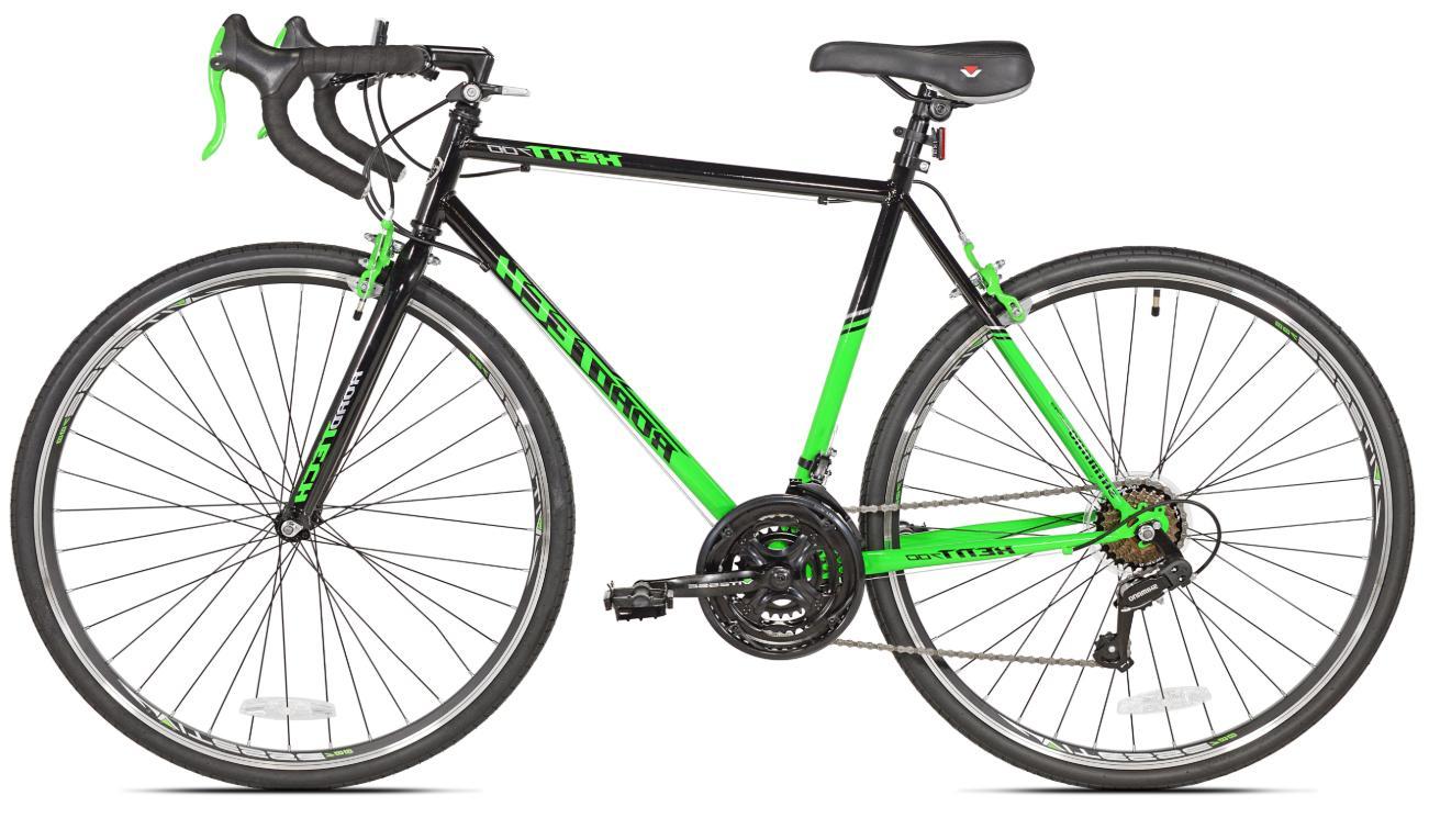 Mens Bike Bicycle 700c Drivetrain Steel Frame Cruising
