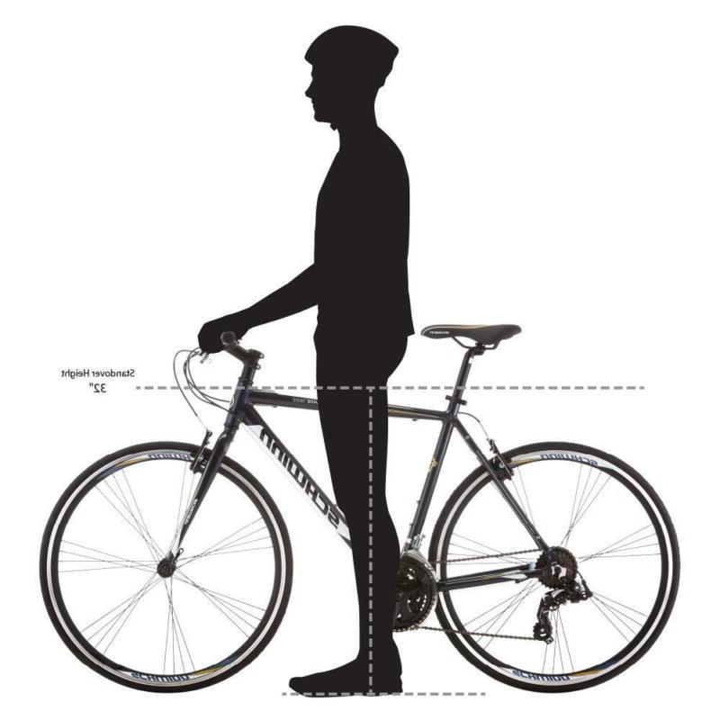 Mens Road Bike Volare Two Colors 700C Rear