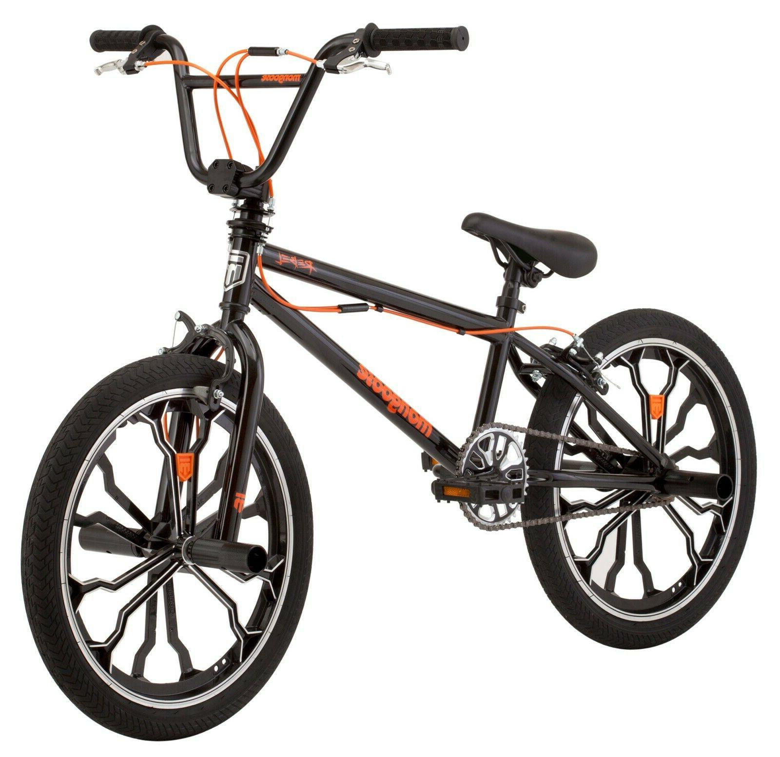 Mongoose Rebel Freestyle Kids BMX Bike 20-inch mag wheels ag