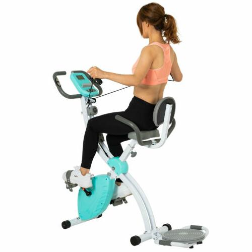 Foldable Exercise Upright Workout Cycling