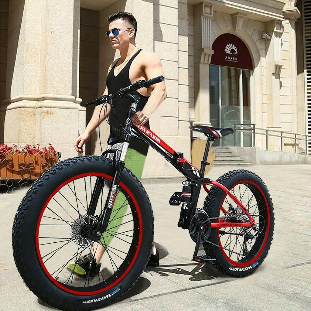 "Mountain Bike/Bicycle Foldable Men/Women Fat Tire 26""MTB Fra"