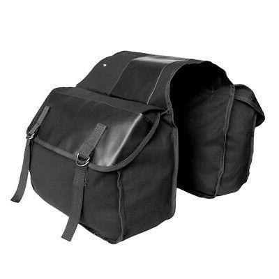 Mountain Bikes Bicycle Double Rack Seat Bag Pannier