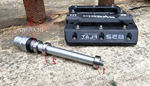 zsling MTB Bike pedal Nylon 9/16 Bike Bicycle Platform Road BMX MTB Bikes Needle