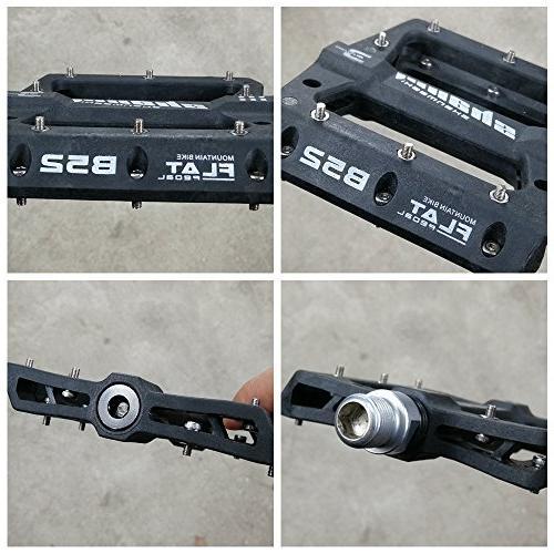 zsling Nylon Composite 9/16 Bike Pedals Non-Slip Bicycle Platform Road BMX Bikes