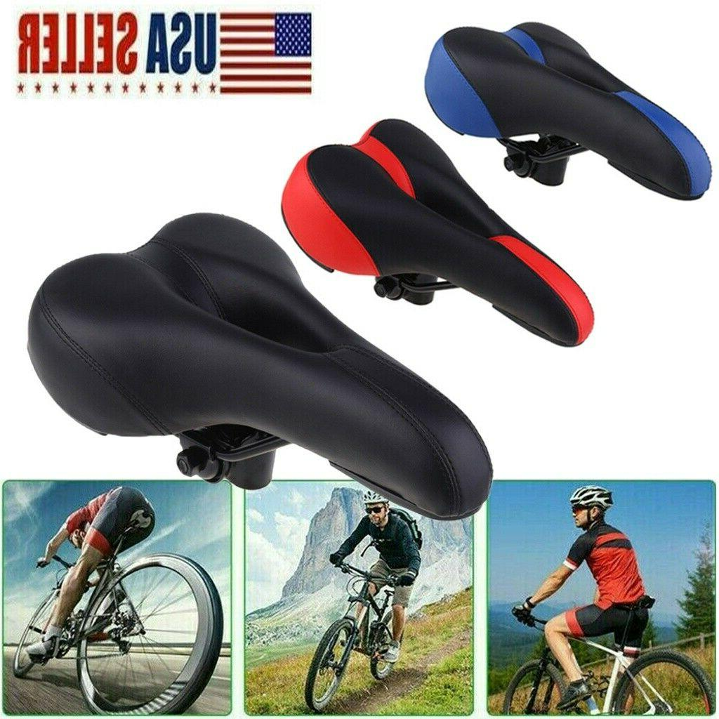 Bicycle Bike Cycle MTB Saddle Road Mountain Gel Pad Sports S