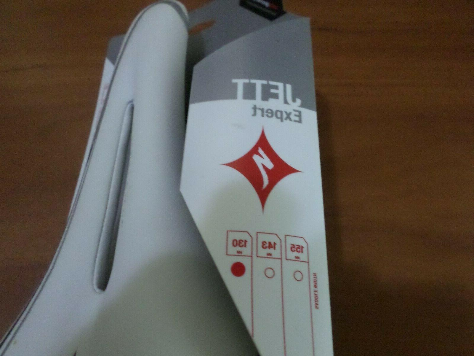 NEW 130mm Jett Expert Ti Saddle Road Ruby