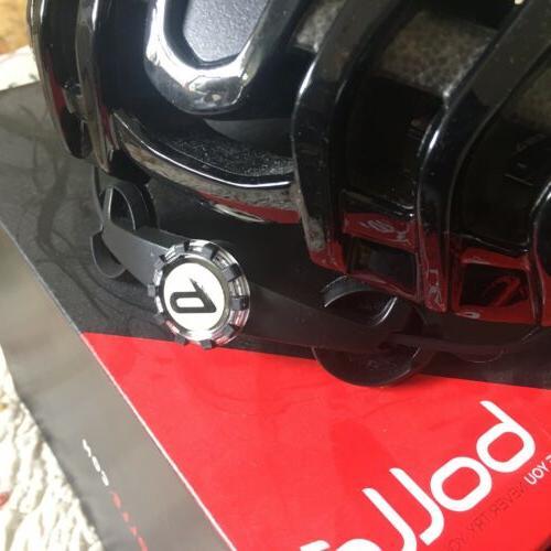 """New Bolle Helmet """"The Black M 54-58cm Bag Visor Inc."""