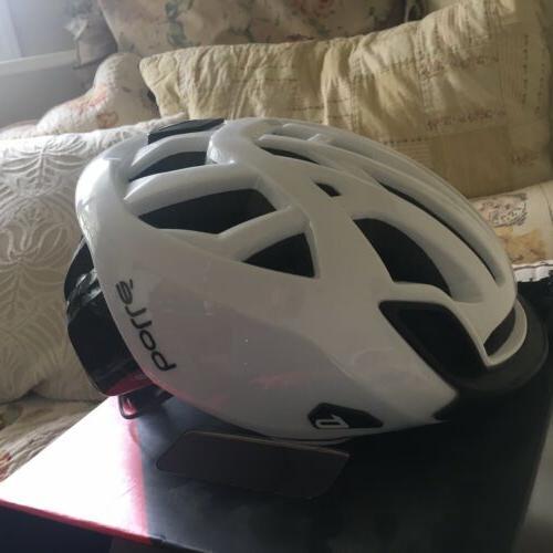 """New Bike Road Helmet """"The One"""" Black Bag Visor"""