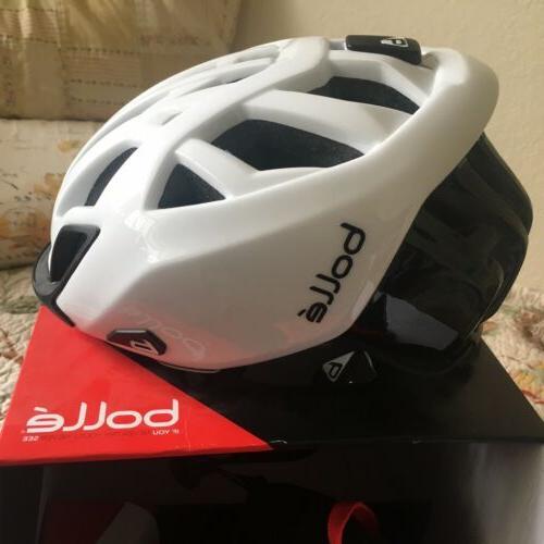 New Bolle Helmet Black M 54-58cm Visor Beanie