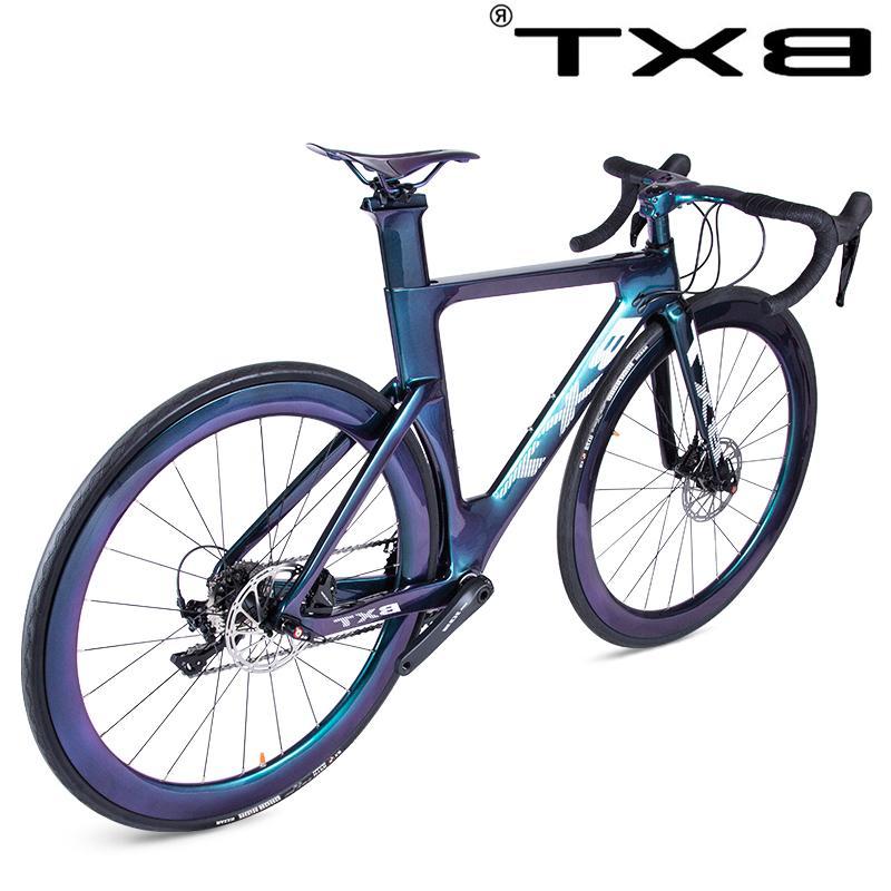 New <font><b>bike</b></font> <font><b>road</b></font> frame disc brake 2x11 speed T800 <font><b>carbon</b></font> <font><b>carbon</b></font> racing bicycle Complete <font><b>road</b></font>