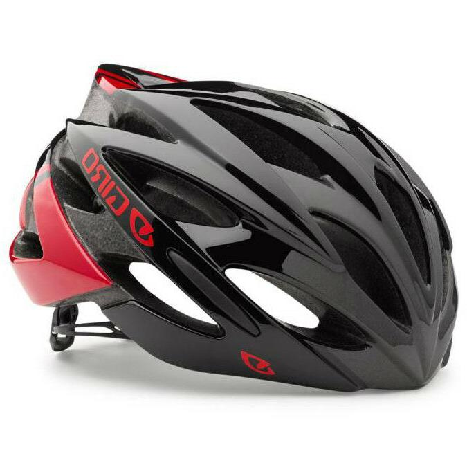 New Giro Fit Cycling Riding Helmet - Red & Black