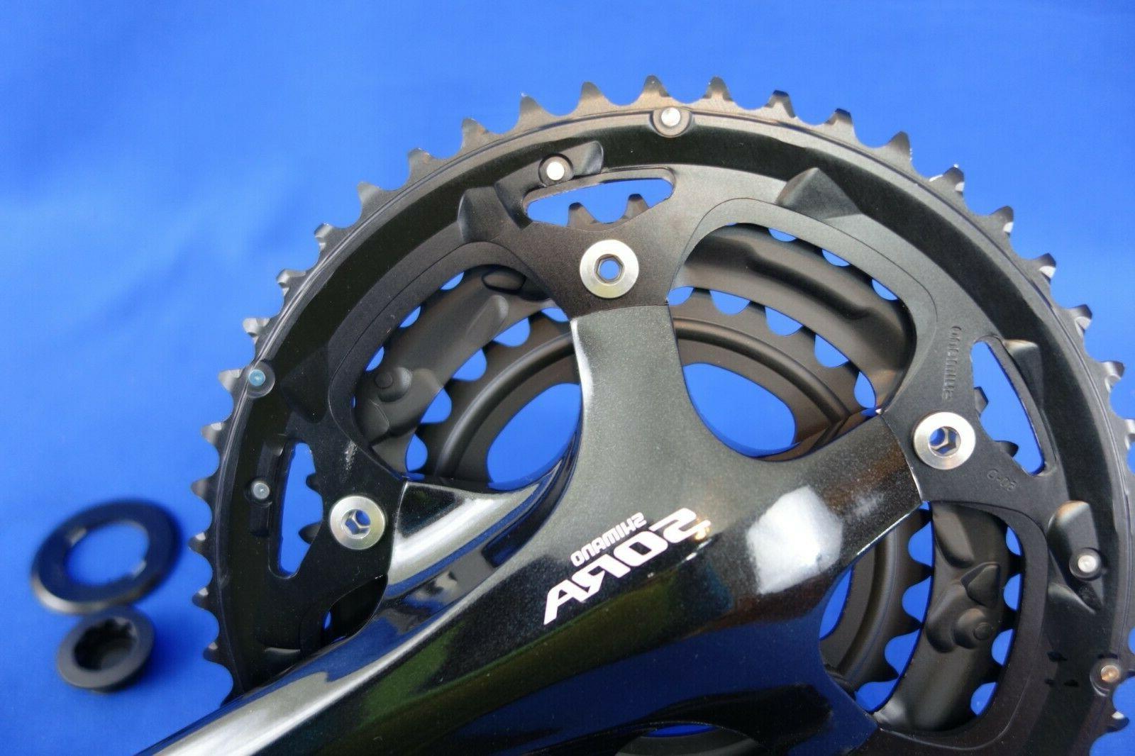 New Sora FC-3503 Road Bike Crankset Triple 50/39/30T 9 Speed 3550