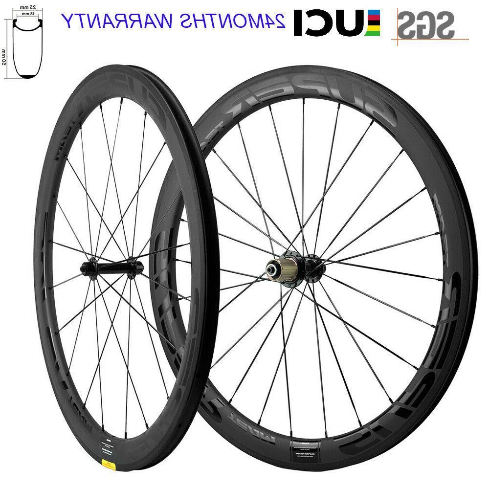 new superteam wheels 700c clincher 50mm carbon