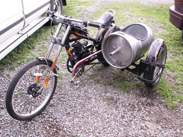 Schwinn OCC Chopper Motor and chain adjusters