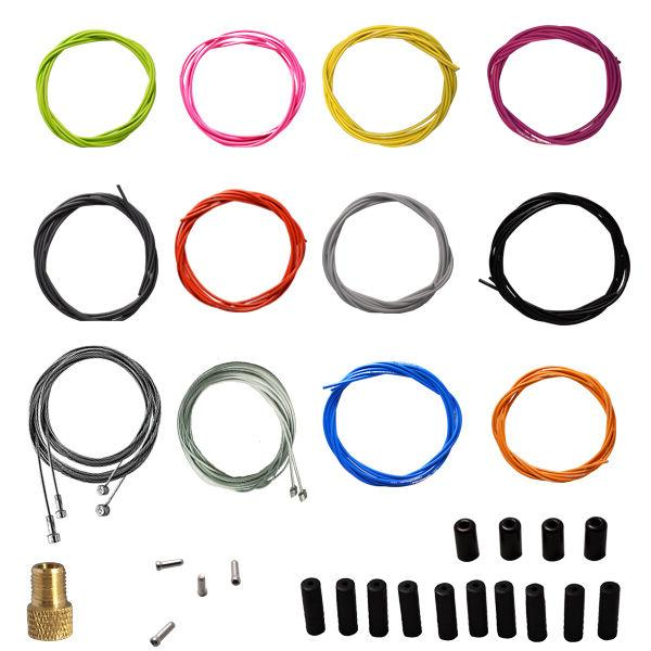 Jagwire OEM brake & shifter cable housing kit Road & Mountai
