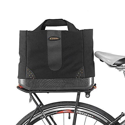 Ibera 2 in 1 Bike PakRak Insulated Cooler Trunk Bag, Bicycle