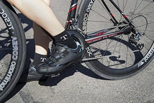 Tommaso Bike Cycling Shoe Dual Compatibility- Black/Blue - 39