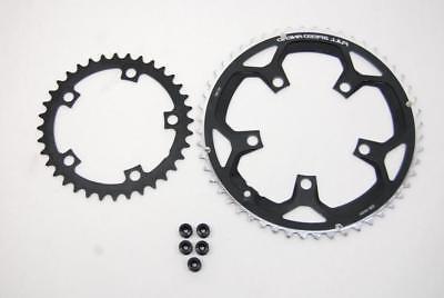 pro road bike chainrings 52 36t mid
