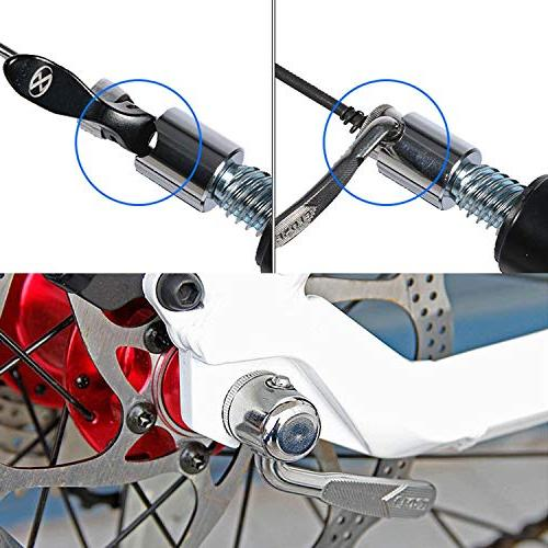 Quwei Quick Wheel Skewer Skewers Cycling Back Tire