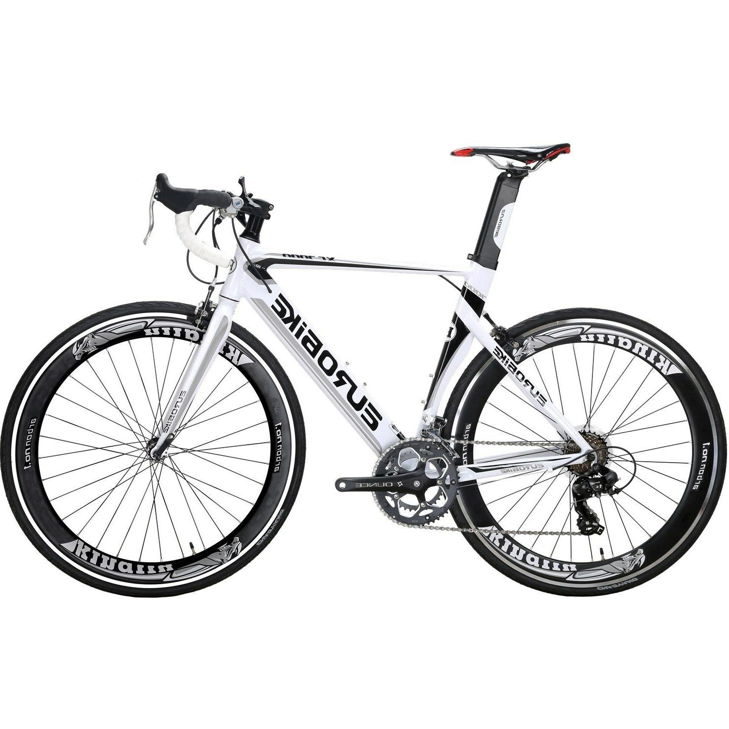 Racing Road Bike 700C Wheels Shimano 14 Speed Mens Bicycle A