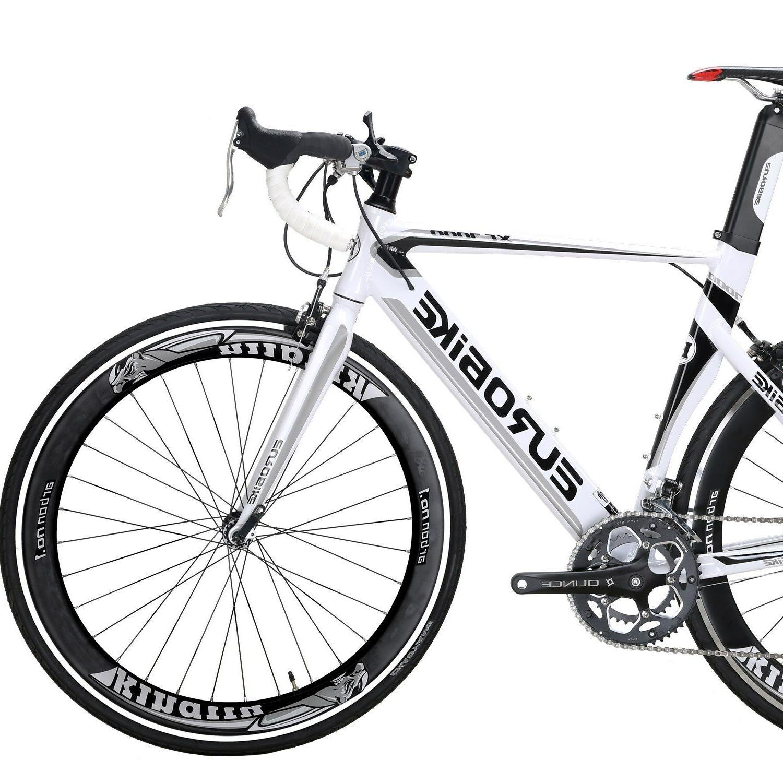 Racing Road Bike 700C Wheels Shimano 54cm