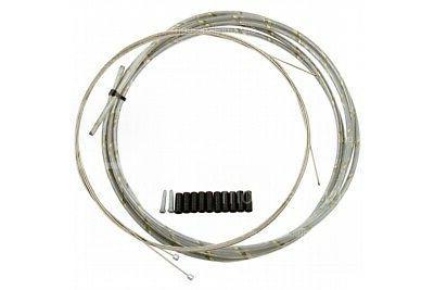 reflective derailleur gear cable front
