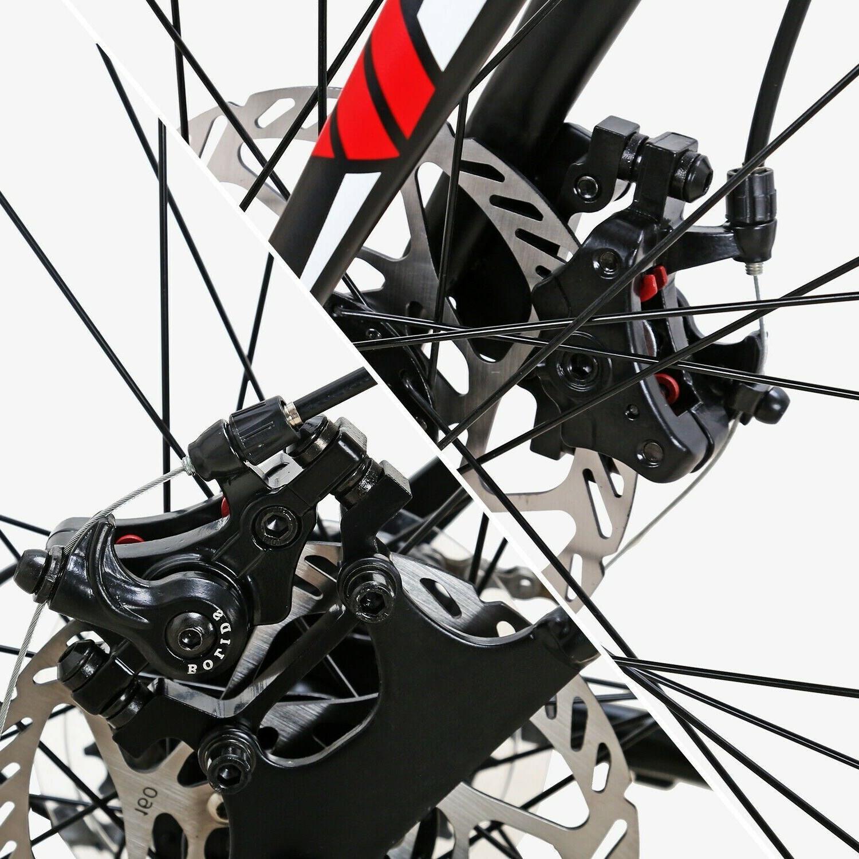 Road Shimano 21 Speed Bicycle Mens Bikes Disc Brake