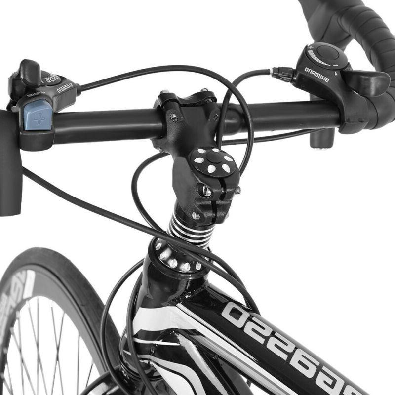 Road Shimano Speed 700C Bikes 54cm Daul Brakes