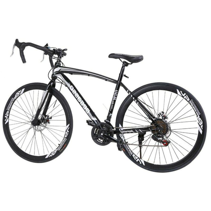 Road Bike Shimano 21 Speed Disc Brake Bicyle Men's Bikes Cyc