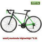 road bike 22 5 green