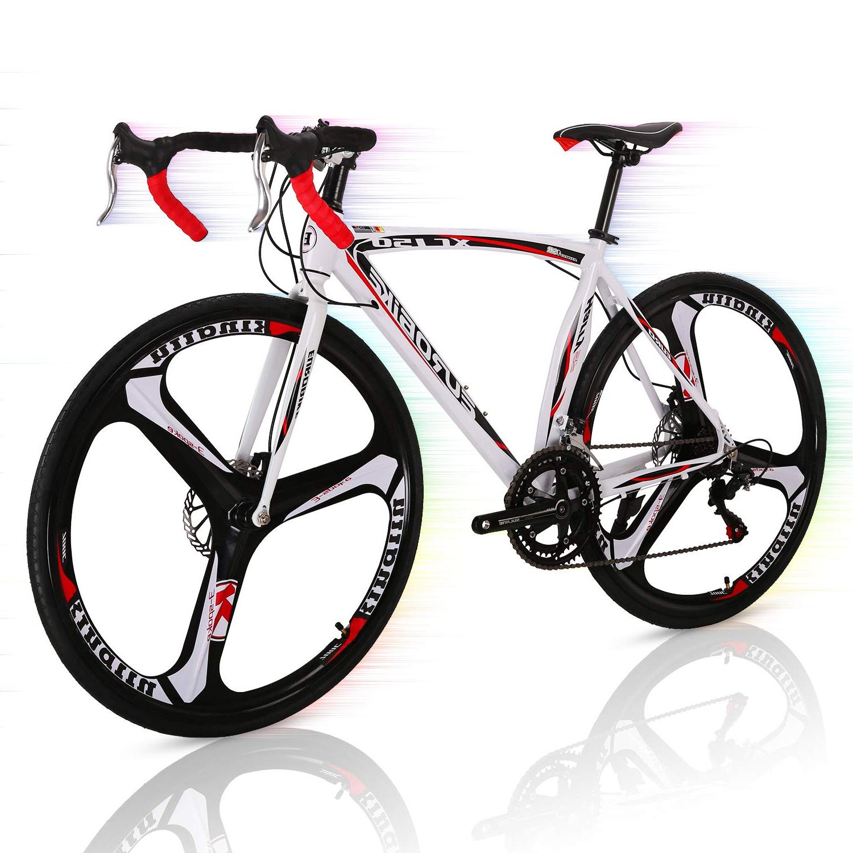 Black//White Superday Road Bike 700c 26 inch 3 Spoke Commuter Bicycle