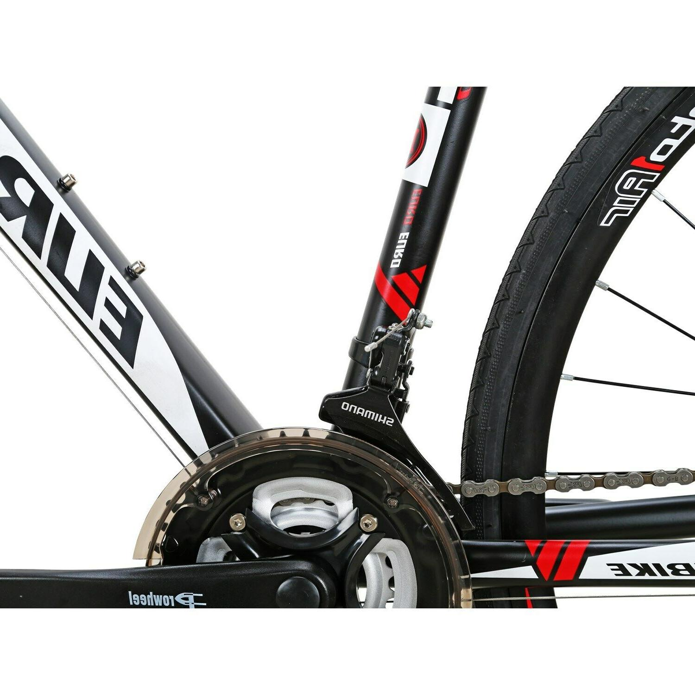 54CM Road Bike Wheels Mens Speed complete Bicycle