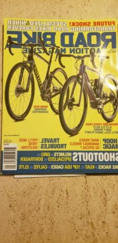 ROAD  BIKE ACTION MAGAZINE April 2020 editor's Shootouts iss