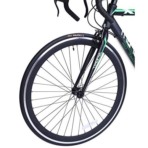 Road Bike 700c x Bicyle Black 58cm