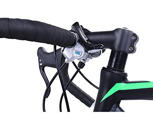 Bike 700c 25c Racing Bicyle Black 58cm