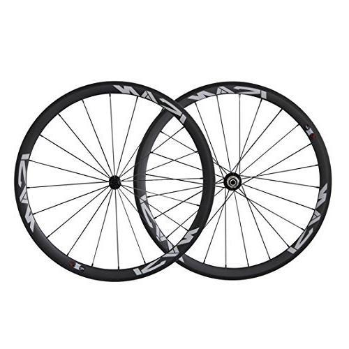road bike clincher wheelset carbon