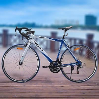 Goplus Road Commuter Bike Shimano 700C 21 Speed Quick Raci