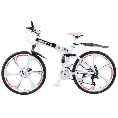 Road Bike Mountain 26 inch Steel 21 Speed Bicycles Dual Disc