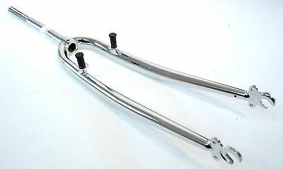 Road Bike Rigid Steel 700c Bicycle Fork w/ Cantilever Bosses