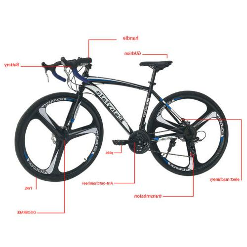 Road 21 Speed Bicycle 700C Brake USA