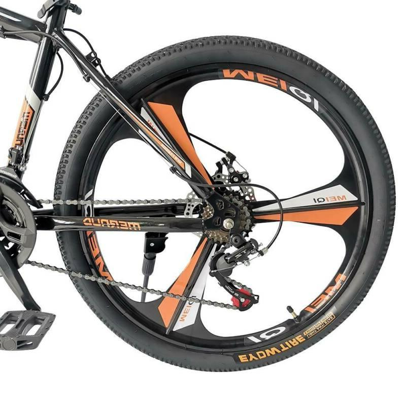 Road Speed Bicycle Mens Front Suspension Mountain Bike