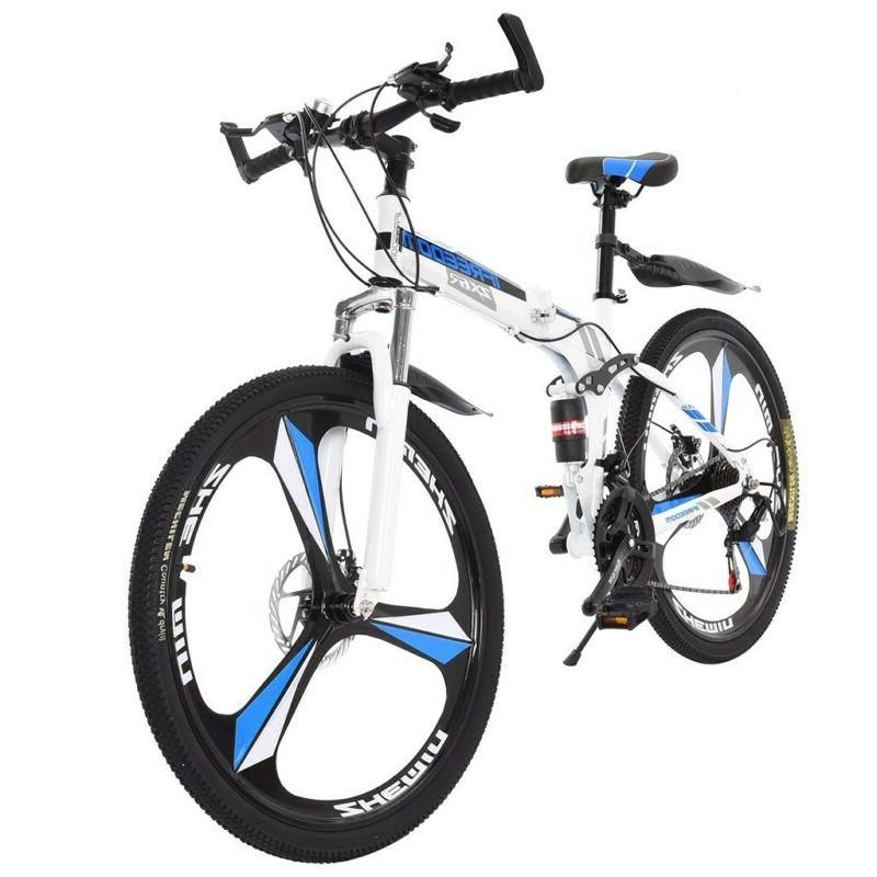 26 inches Mountain Bike Carbon Frame 21 Speed Bicycle Full S