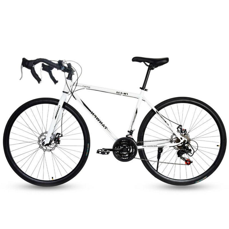 Road Bike 21 Men's Bikes 700C wheels Bicycle
