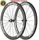 Road Bike Wheels 50mm Carbon Fiber Wheelset Bicycle Cycle 70