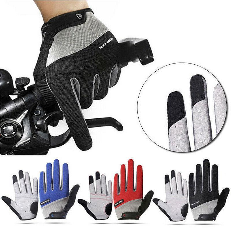 road mountain bike cycling full finger gloves