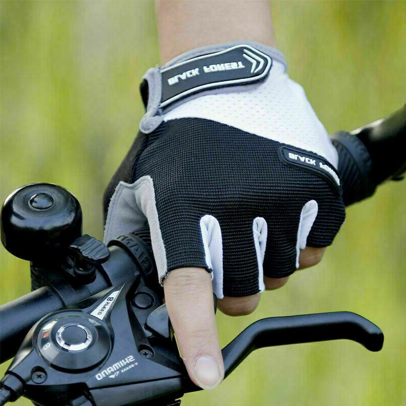 Road Bike Cycling Half BMX Bicycle Riding Fingerless