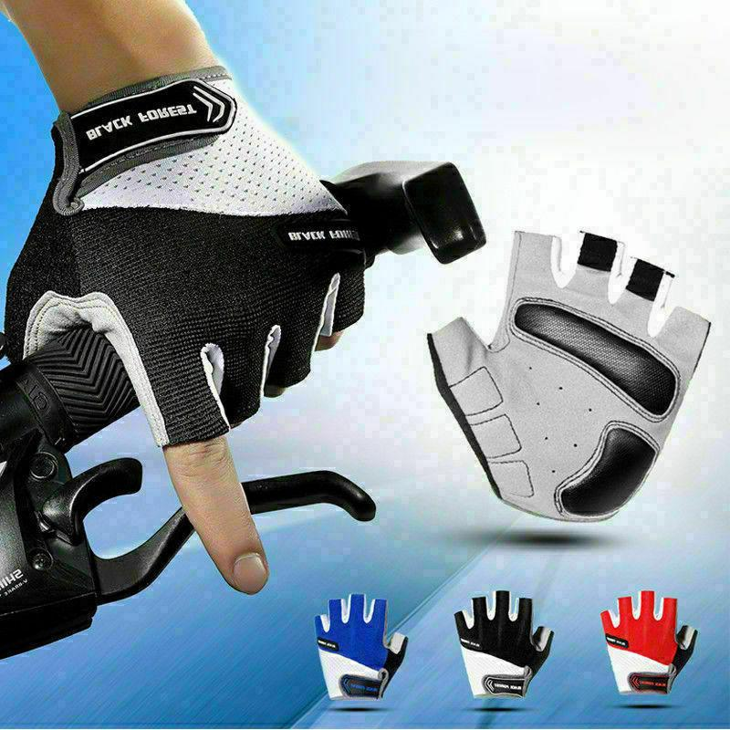 road mountain bike cycling half finger gloves
