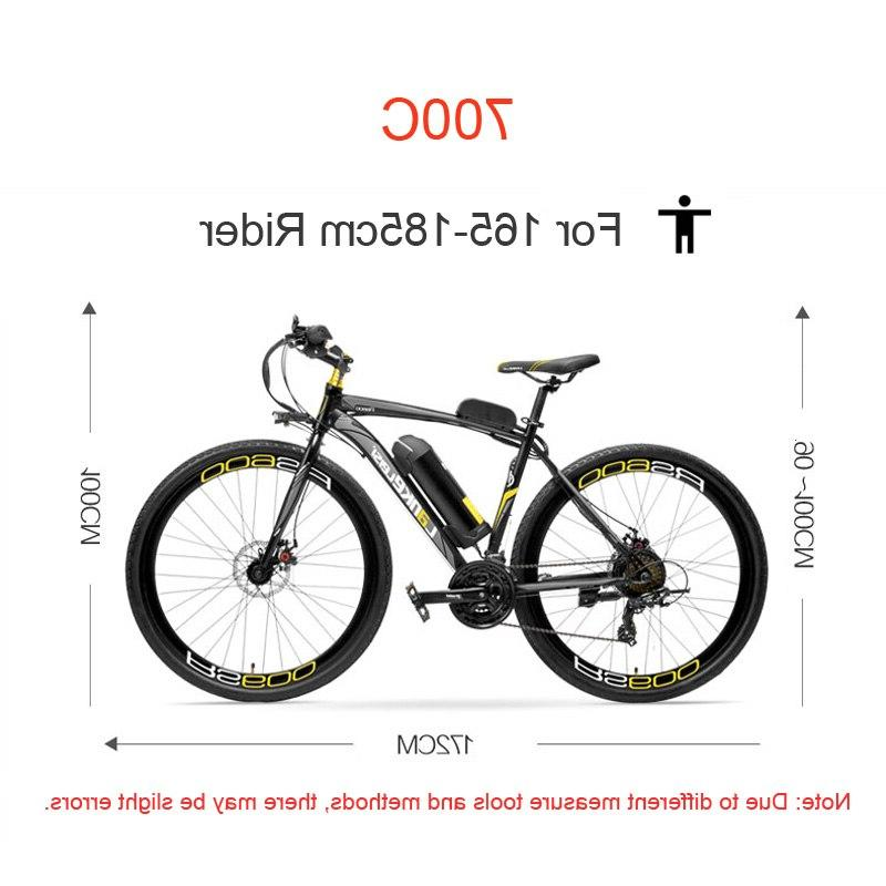 RS600 36V 20A Battery <font><b>Road</b></font> Bicycle, Disc Brake, Alloy Mountain