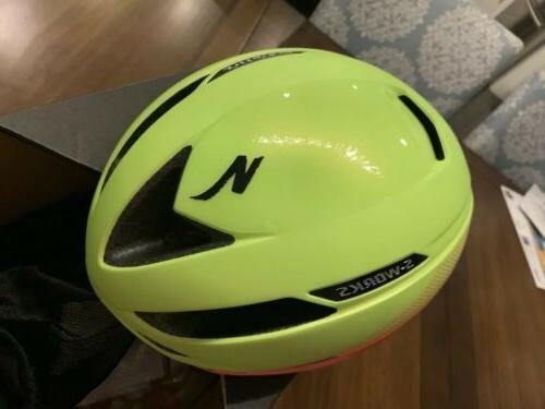 Specialized S-Works Evade Road Helmet MEDIUM 55-59cm Orange Green